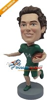 Custom Bobble Head | Running Football Man Bobblehead | Gift For Men
