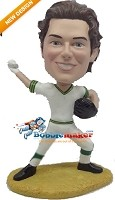 Custom Bobble Head | Baseball Throwing Man Bobblehead | Gift Ideas For Men