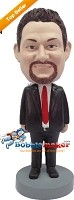 Custom Bobble Head | Stocky Executive Male Bobble | Gift Ideas For Men