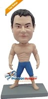 Custom Bobble Head | Big Muscles Man Bobblehead | Gift For Men
