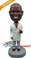Custom Bobble Head | Doctor With Notebook Bobblehead | Gift Ideas For Men