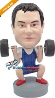 Custom Bobble Head | Dead Lift Male Bobblehead | Gift Ideas For Men