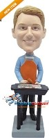 Custom Bobble Head | Grilling Man Bobblehead | Gift For Men