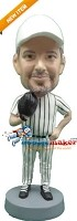 Custom Bobble Head | Baseball Pitcher Lefty Bobblehead | Gift Ideas For Men