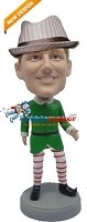 Custom Bobble Head | Male Elf Bobblehead | Gift Ideas For Men