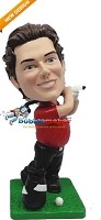 Custom Bobble Head | Golf Swing Male Bobblehead | Gift Ideas For Men