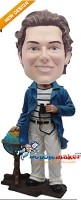 Custom Bobble Head | World Traveler Bobblehead | Gift Ideas For Men