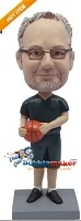 Custom Bobble Head | Casual Male With Basketball Bobblehead | Gift Ideas For Men