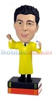 Custom Bobble Head | Law Graduate Male Bobblehead | Gift Ideas For Men
