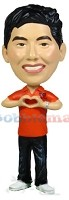 Custom Bobble Head | Male Making Heart Bobblehead | Gift Ideas For Men