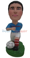 Custom Bobble Head | Soccer Player Bobblehead | Gift Ideas For Men