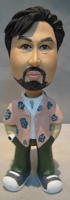 Custom Bobble Head | Hawaiian Shirt Male Bobblehead | Gift Ideas For Men
