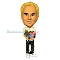 Custom Bobble Head | Man With Flowers Bobblehead | Gift Ideas For Wedding