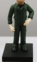 Custom Bobble Head | Air Force Pilot Bobblehead | Gift Ideas For Men