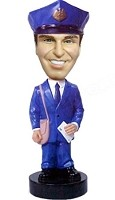 Custom Bobble Head | Classic Postman Male Bobblehead | Gift Ideas For Men