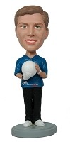 Custom Bobble Head | Bowler Male Bobblehead | Gift Ideas For Men