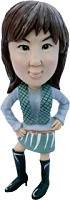 Custom Bobble Head | High Heel Boots Female Bobblehead | Gift Ideas For Women