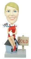 Custom Bobble Head | Realtor Female Bobblehead 2 | Gift Ideas For Women