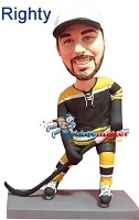 Custom Bobble Head | Bruins Hockey Player Bobblehead | Gift Ideas For Men