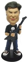 Custom Bobble Head | Flying-V Guitar Player Bobblehead | Gift Ideas For Men