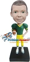 Custom Bobble Head | Boy Football Player Bobblehead | Gift For Men