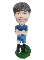 Custom Bobble Head | Soccer Player Boy Bobblehead | Gift Ideas For Men