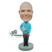 Custom Bobble Head | Thin Male Coach Bobblehead | Gift Ideas For Men
