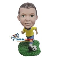 Custom Bobble Head | Boy Soccer Player Bobblehead | Gift Ideas For Men