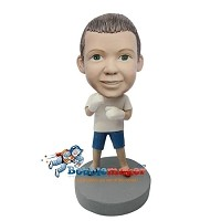 Custom Bobble Head | Child Boxer Bobblehead | Gift Ideas For Men