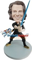 Custom Bobble Head | Ninja With Sword Bobblehead | Gift For Men