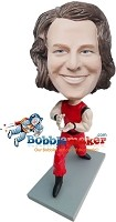 Custom Bobble Head | Karate Man Bobblehead | Gift For Men