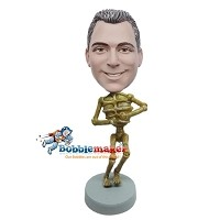 Custom Bobble Head | Skeleton Bobblehead | Gift For Men