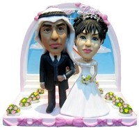 Custom Bobble Head | Down Aisle Wedding Bobblehead | Gift Ideas For Wedding