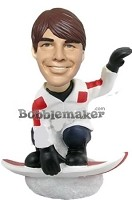 Custom Bobble Head | Snowboarder Man Bobblehead | Gift Ideas For Men