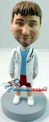Custom Bobble Head | Doctor In Shorts Bobblehead | Gift Ideas For Men