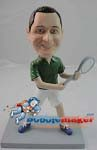 Custom Bobble Head | Tennis Player Man Bobblehead | Gift Ideas For Men