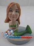 Custom Bobble Head | Mermaid Woman Bobblehead | Gift Ideas For Women