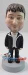 Custom Bobble Head | Leisurely Male Bobblehead | Gift Ideas For Men