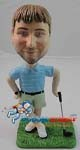Custom Bobble Head | Man Leaning On Golf Club Bobblehead | Gift Ideas For Men