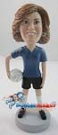 Custom Bobble Head | Volley Ball Player Woman Bobblehead | Gift Ideas For Women