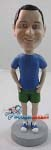 Custom Bobble Head | T-Shirt And Shorts Male Bobblehead | Gift Ideas For Men