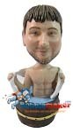 Custom Bobble Head | Man In Wash Barrel Bobblehead | Gift Ideas For Men