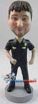 Custom Bobble Head | Male Police Officer Bobblehead | Gift Ideas For Men