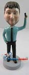 Custom Bobble Head | Male With iPhone Bobblehead | Gift Ideas For Men