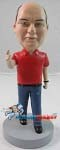 Custom Bobble Head | Wagging Finger Man Bobblehead | Gift Ideas For Men