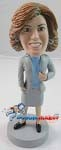 Custom Bobble Head | Office Woman Bobblehead | Gift Ideas For Women