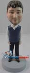 Custom Bobble Head | Sweater Vest Male Bobblehead | Gift Ideas For Men