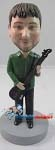 Custom Bobble Head | Male Bass Player Bobblehead | Gift Ideas For Men