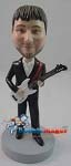 Custom Bobble Head | Suit And Guitar Bobblehead | Gift Ideas For Men