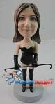 Custom Bobble Head | Dominating Woman Bobblehead | Gift Ideas For Women